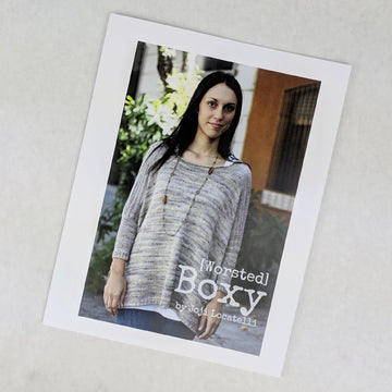 Pattern - Worsted Boxy, by Joji Locatelli, ready to ship