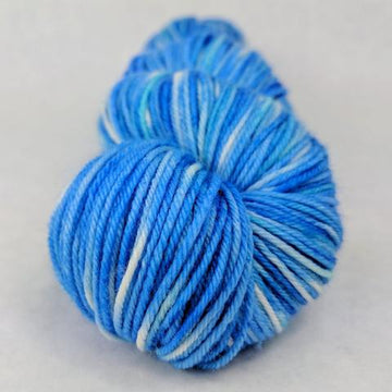 Knitcircus Yarns: Dreidel Dreidel 100g Handpainted skein, Greatest of Ease, ready to ship - SALE