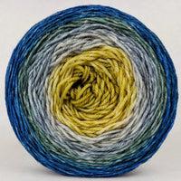 Knitcircus Yarns: Pardon Me, Sir 150g Panoramic Gradient, Divine, ready to ship yarn - SALE