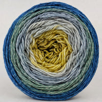 Knitcircus Yarns: Pardon Me, Sir 150g Panoramic Gradient, Greatest of Ease, ready to ship yarn