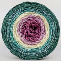 Knitcircus Yarns: Jingle Bells 150g Panoramic Gradient, Divine, ready to ship yarn