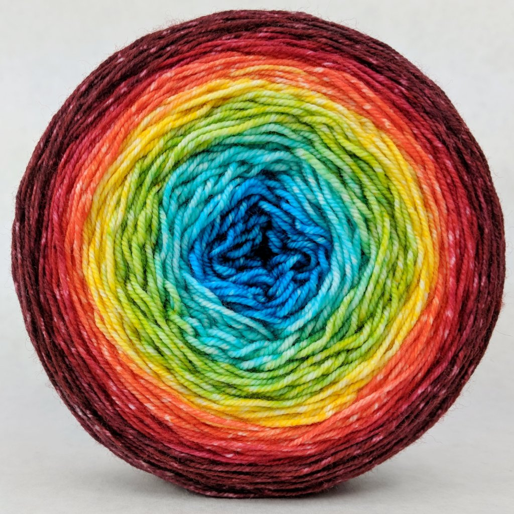 Into the Mystic 150g Panoramic Gradient, Trampoline, ready to ship