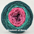 Knitcircus Yarns: Deck The Halls Panoramic Gradient, dyed to order yarn