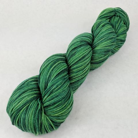 Knitcircus Yarns: Defying Gravity Kettle-Dyed Semi-Solid skeins, dyed to order yarn