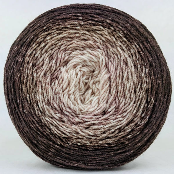 Knitcircus Yarns: Freshly Brewed 150g Chromatic Gradient, Trampoline, ready to ship yarn