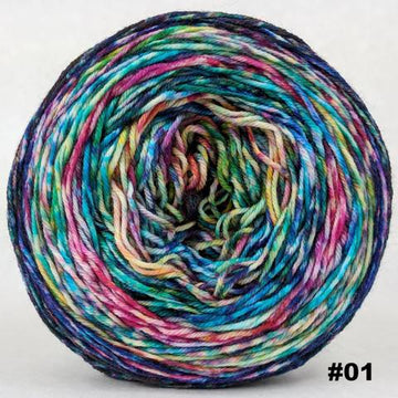 Knitcircus Yarns: Paint the Town 100g Modernist, Greatest of Ease, choose your cake, ready to ship yarn