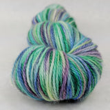 Lady of the Lake 100g Handpainted skein, Corriedale, ready to ship