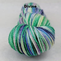 Knitcircus Yarns: Lady of the Lake Handpainted Skeins, dyed to order yarn