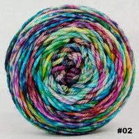 Knitcircus Yarns: Paint the Town 150g Modernist, Ringmaster, choose your cake, ready to ship yarn