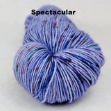 Purple Haze Speckled Handpaint Skeins, dyed to order