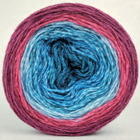 Knitcircus Yarns: Birds of a Feather 100g Panoramic Gradient, Corriedale, ready to ship yarn - SALE