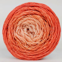 Knitcircus Yarns: Orange You Glad 100g Chromatic Gradient, Divine, ready to ship yarn