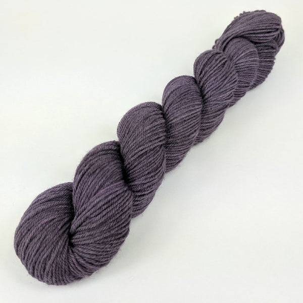 Knitcircus Yarns: Paris Twilight 50g Kettle-Dyed Semi-Solid skein, Greatest of Ease, ready to ship yarn