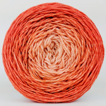 Knitcircus Yarns: Orange You Glad 150g Chromatic Gradient, Divine, ready to ship yarn