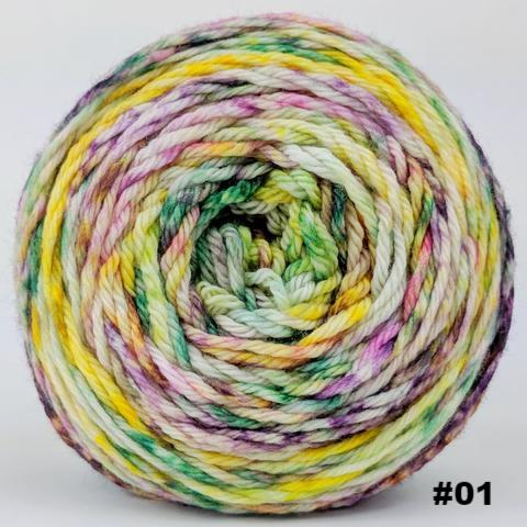 Knitcircus Yarns: Free as a Bird 100g Modernist, Ringmaster, choose your cake, ready to ship yarn