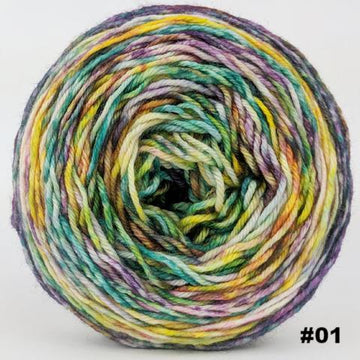Knitcircus Yarns: Free as a Bird 100g Modernist, Divine, choose your cake, ready to ship yarn