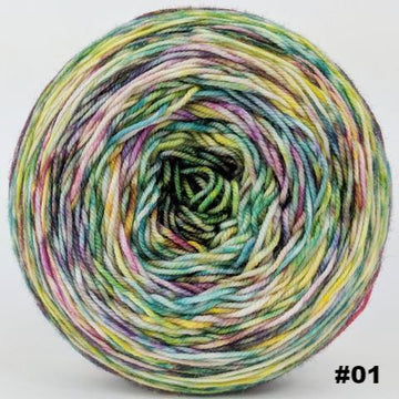 Knitcircus Yarns: Free as a Bird 100g Modernist, Trampoline, choose your cake, ready to ship yarn