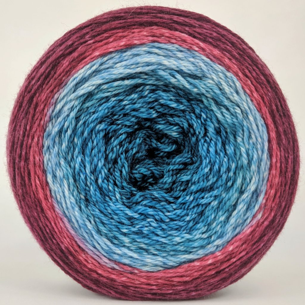 Birds of a Feather 150g Panoramic Gradient, Opulence, ready to ship
