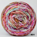 Knitcircus Yarns: Backyard Bouquet 100g Modernist, Greatest of Ease, choose your cake, ready to ship yarn