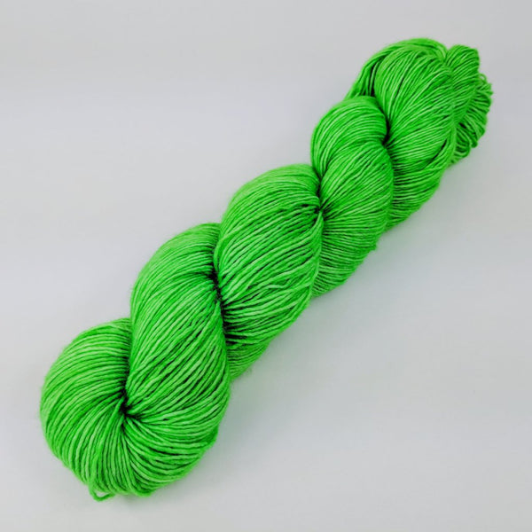 Knitcircus Yarns: Backstage Pass 100g Kettle-Dyed Semi-Solid skein, Spectacular, ready to ship yarn