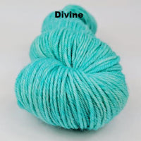 Knitcircus Yarns: Crowd Surfing Kettle-Dyed Semi-Solid skeins, dyed to order yarn