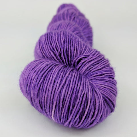 Glitter Cannon 100g Kettle-Dyed Semi-Solid skein, Spectacular, ready to ship