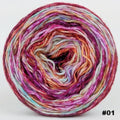 Knitcircus Yarns: Backyard Bouquet 100g Modernist, Corriedale, choose your cake, ready to ship yarn - SALE