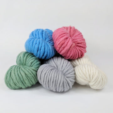 Knitcircus Yarns: Assorted Colors, 100g Kettle-Dyed Semi-Solid skein, Gigantic, ready to ship yarn