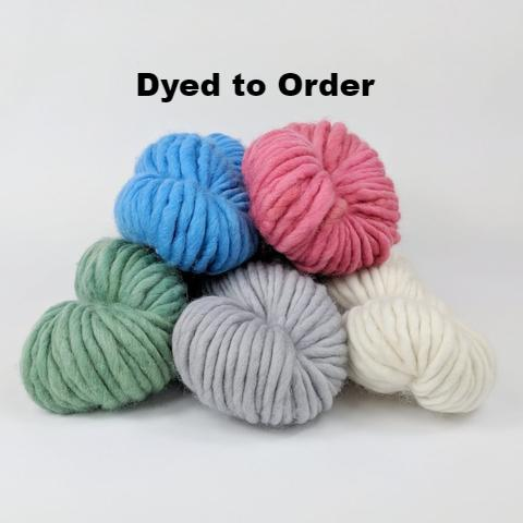 Assorted Colors, 100g Kettle-Dyed Semi-Solid skein, Gigantic, dyed to order