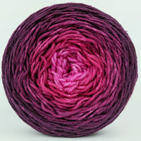 Knitcircus Yarns: My Funny Valentine 100g Chromatic Gradient, Divine, ready to ship yarn