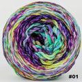 Knitcircus Yarns: Electric Mayhem 100g Modernist, Ringmaster, choose your cake, ready to ship yarn