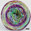 Knitcircus Yarns: Electric Mayhem 150g Modernist, Greatest of Ease, choose your cake, ready to ship yarn