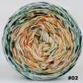 Knitcircus Yarns: Country Roads 100g Impressionist Gradient, Greatest of Ease, choose your cake, ready to ship yarn