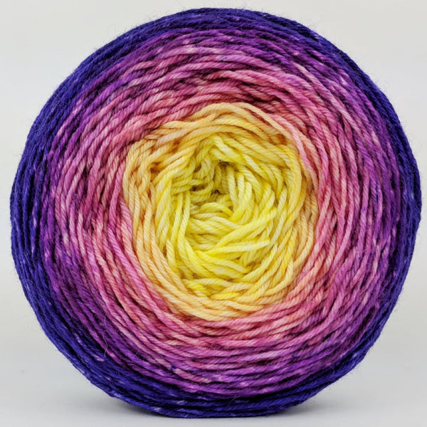 Knitcircus Yarns: Secret Garden 150g Panoramic Gradient, Divine, ready to ship yarn