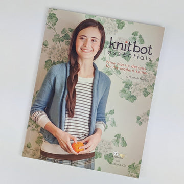 Book - Knitbot Essentials, by Hannah Fettig, ready to ship