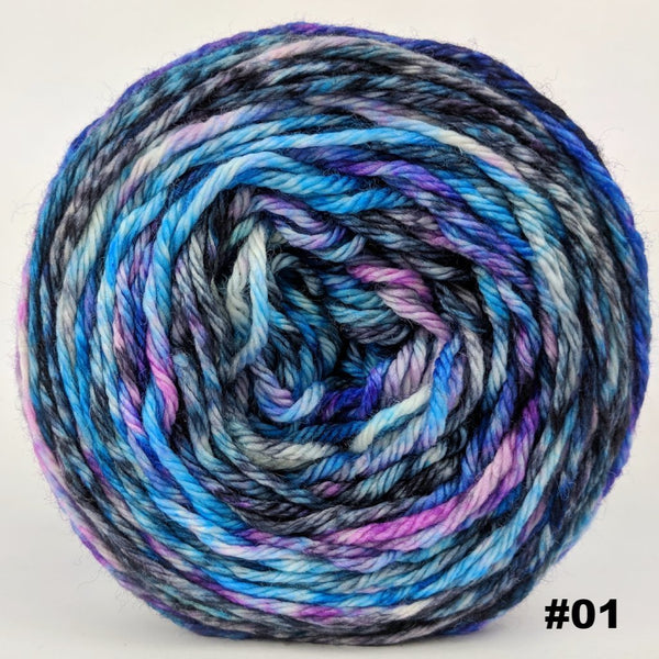 Knitcircus Yarns: Night of a Thousand Stars 100g Modernist, Ringmaster, choose your cake, ready to ship yarn
