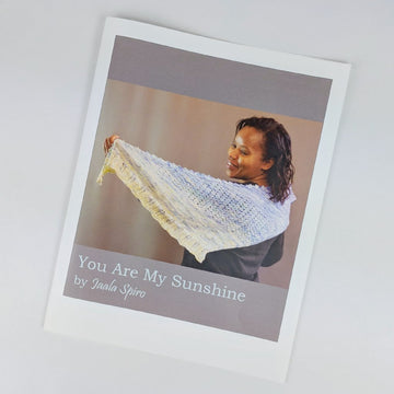 Pattern - You Are My Sunshine, by Jaala Spiro, ready to ship - SALE