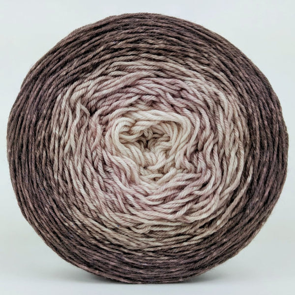 Knitcircus Yarns: Freshly Brewed 150g Chromatic Gradient, Greatest of Ease, ready to ship yarn
