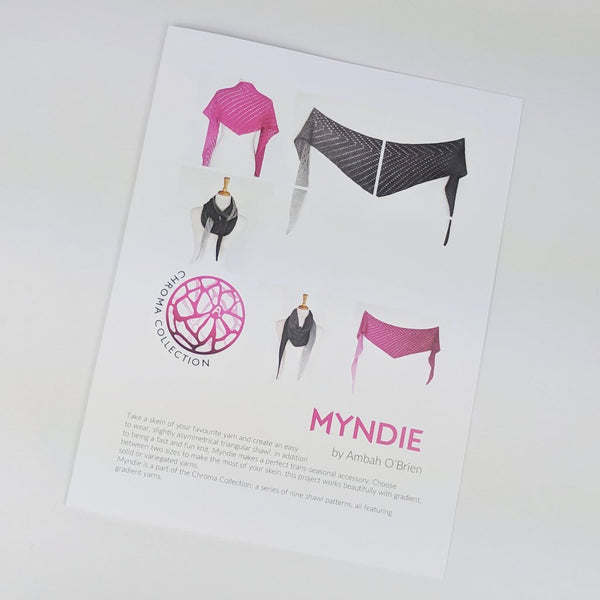 Pattern - Myndie, by Ambah O'Brien, ready to ship