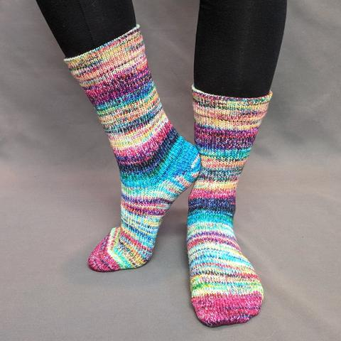 Knitcircus Yarns: Paint the Town Modernist Matching Socks Set (medium), Greatest of Ease, choose your cakes, ready to ship yarn
