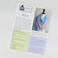 Pattern - Milton by Jen Lucas, ready to ship