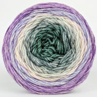 Knitcircus Yarns: Tartans and Time Travel 100g Panoramic Gradient, Divine, ready to ship yarn