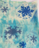Let It Snow Sock Blanks, dyed to order