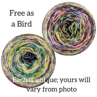 Knitcircus Yarns: Free as a Bird Modernist, dyed to order yarn