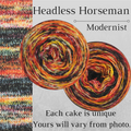 Knitcircus Yarns: Headless Horseman Modernist, dyed to order yarn
