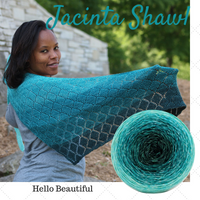 Jacinta Shawl Kit, ready to ship