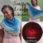 Juniper Lemon Shawl Yarn Pack, pattern not included, ready to ship