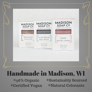 Soap Bar, Madison Soap Co., assorted scents, ready to ship