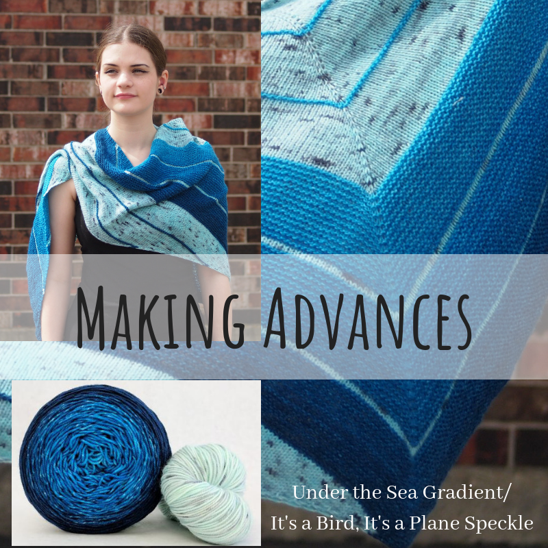 Making Advances Yarn Pack, pattern not included, ready to ship