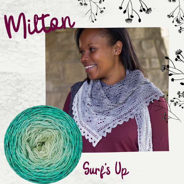 Milton Shawl Kit, dyed to order